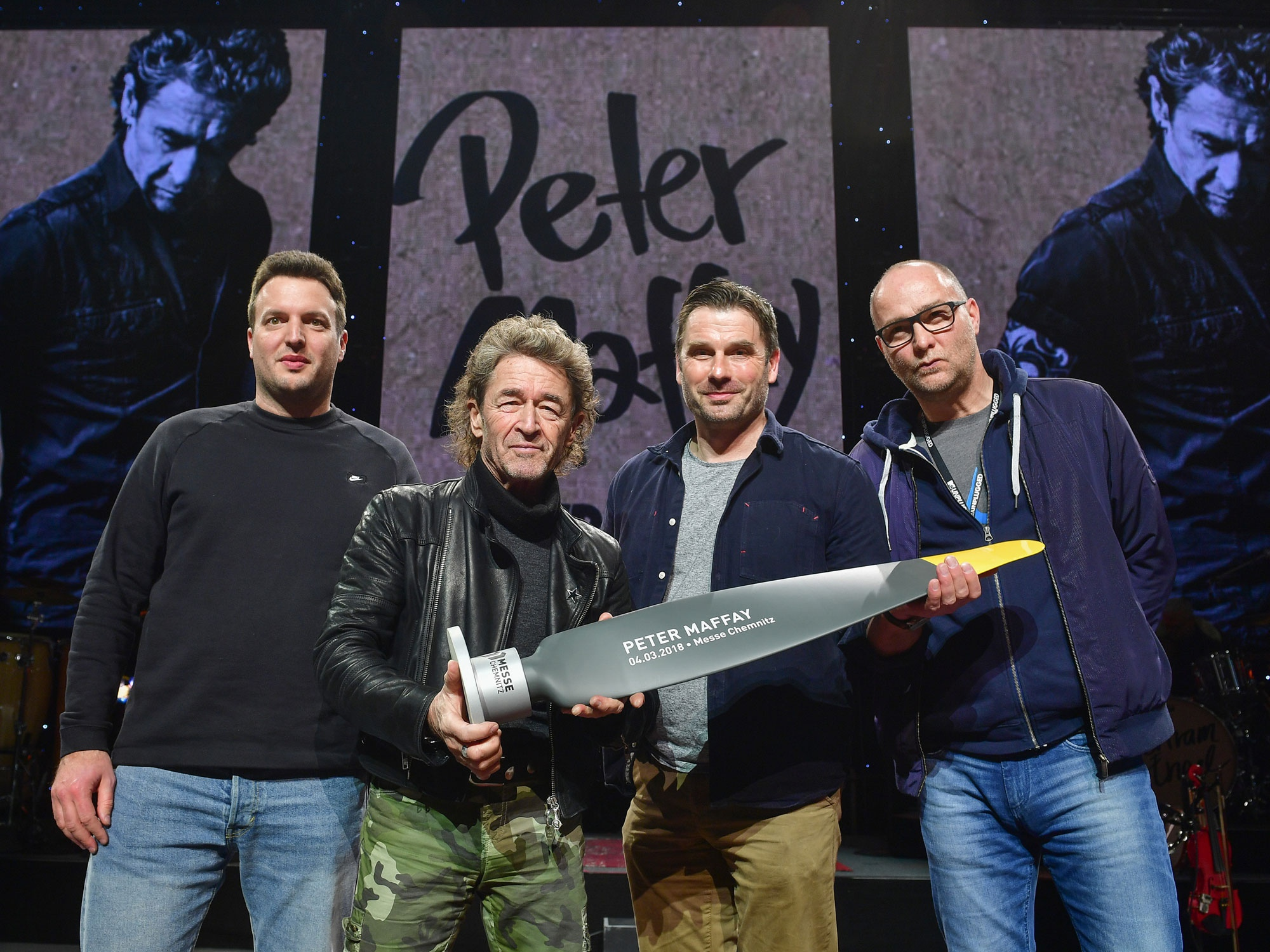 Sold Out Award der Messe Chemnitz für Peter Maffay