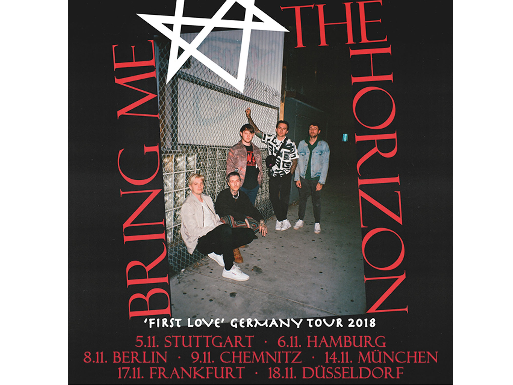 Bring me the Horizon Tourplakat