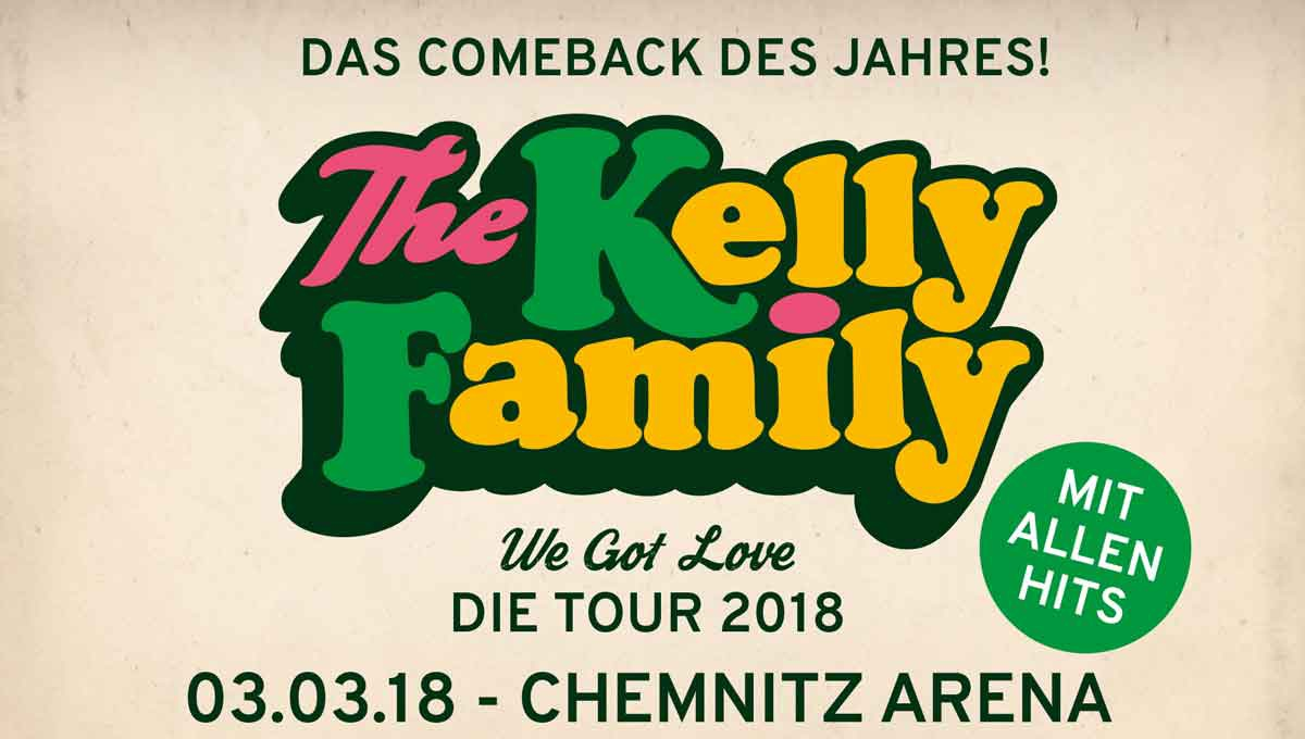 The Kelly Family in der Messe Chemnitz