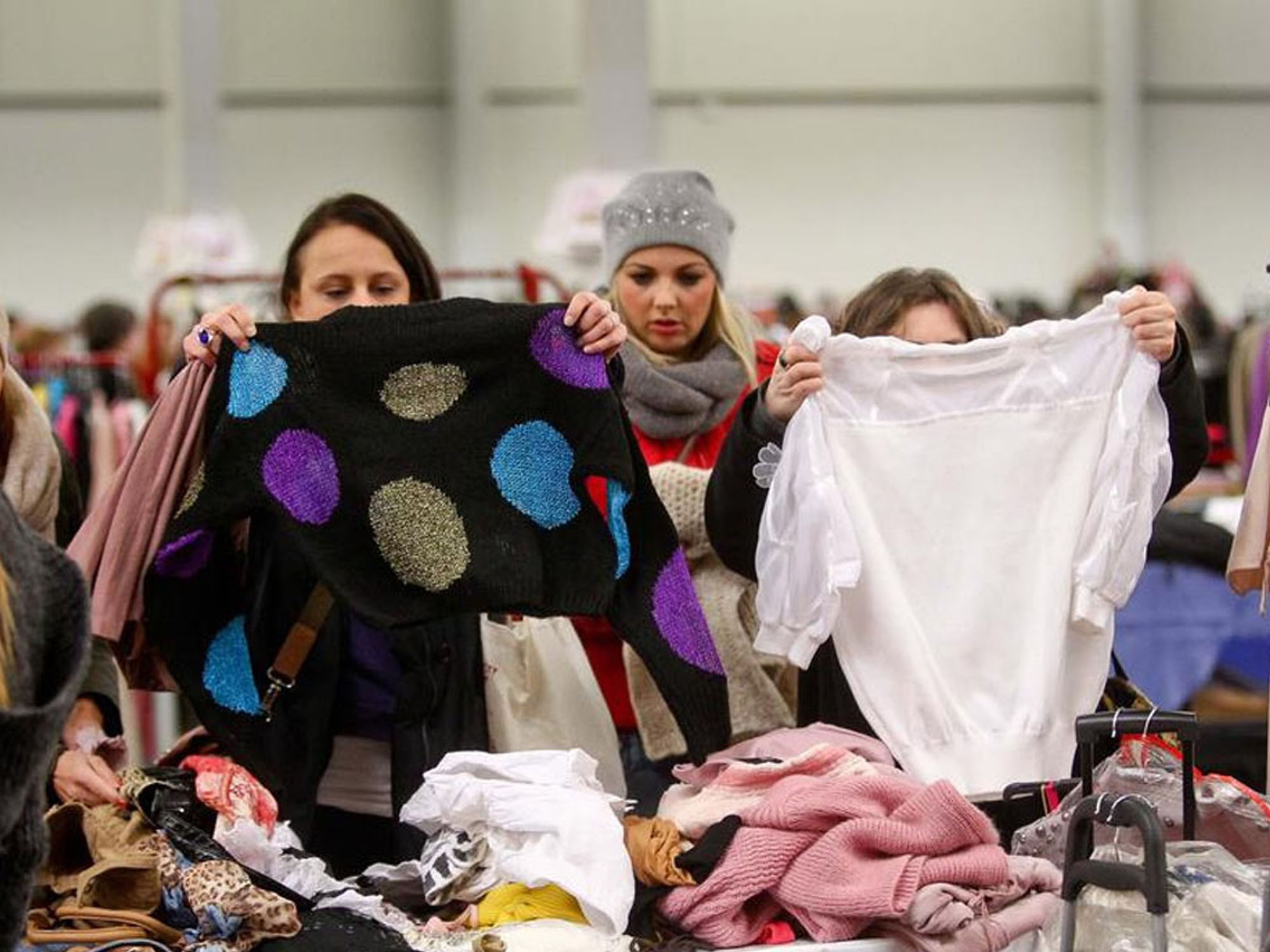 Ladyfashion Flohmarkt in der Messe Chemnitz