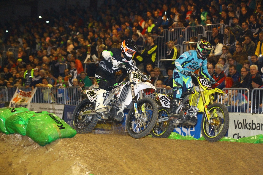 Supercross in der Messe Chemnitz